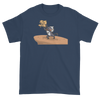 Lion King Style Presenting Twins T-Shirt in Blue Dusk