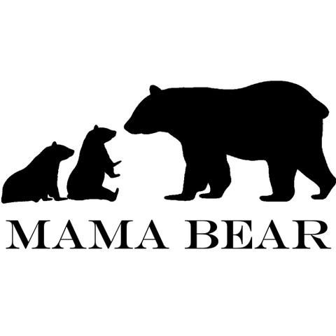 Twin Mama Bear T-Shirt