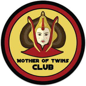 Mother of Twins Club Sticker