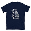 My Twins Are Not Double Trouble (Navy Shirt)
