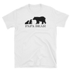 Twin Papa Bear T-Shirt (White)