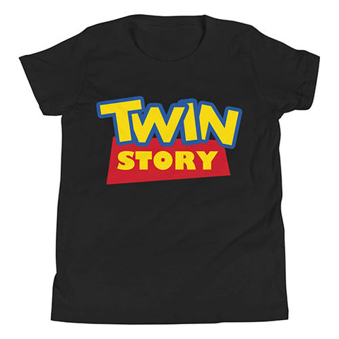 Twin Story (Toy Story Parody Shirt) for Kids
