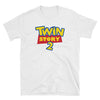 Twin Story (Toy Story Parody Shirt) - White