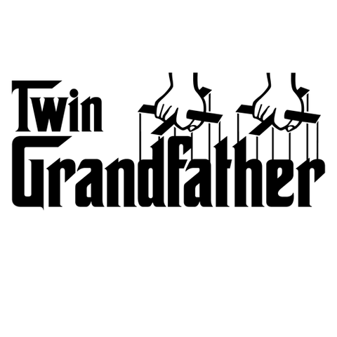 Twin Grandfather (Godfather Style) T-Shirt