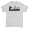 Twin Grandfather (Godfather Style) Gray T-Shirt