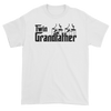 Twin Grandfather (Godfather Style) White T-Shirt
