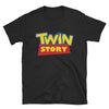 Twin Story (Toy Story Parody Shirt) - Black