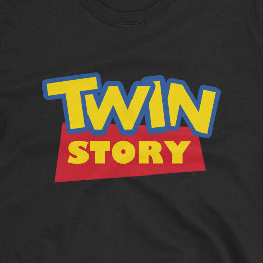 Twin Story (Toy Story Parody Shirt)