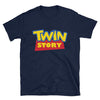 Twin Story (Toy Story Parody Shirt) - Navy