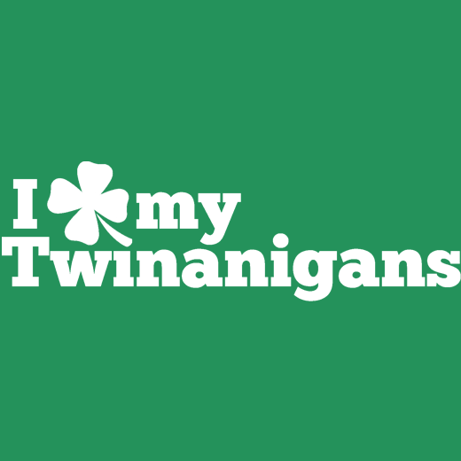 I Clover My Twinanigans T-Shirt