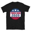 Twin Dad 2020 (Election Parody Shirt) - Black