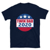 Twin Dad 2020 (Election Parody Shirt) - Navy
