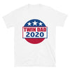 Twin Dad 2020 (Election Parody Shirt) - White