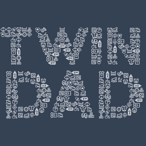 Twin Dad Iconic T-Shirt