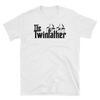 The Twinfather (Godfather Style) T-Shirt on White