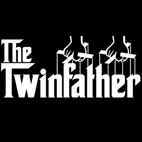 The Twin Father (Godfather Style) T-Shirt
