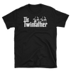 The Twinfather (Godfather Style) T-Shirt on Black