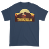 Twinzilla T-Shirt on Blue