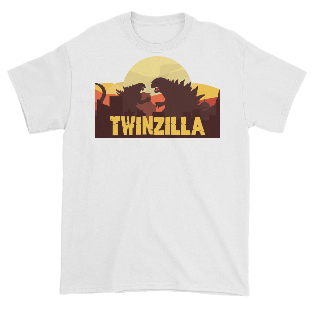 Twinzilla T-Shirt on White