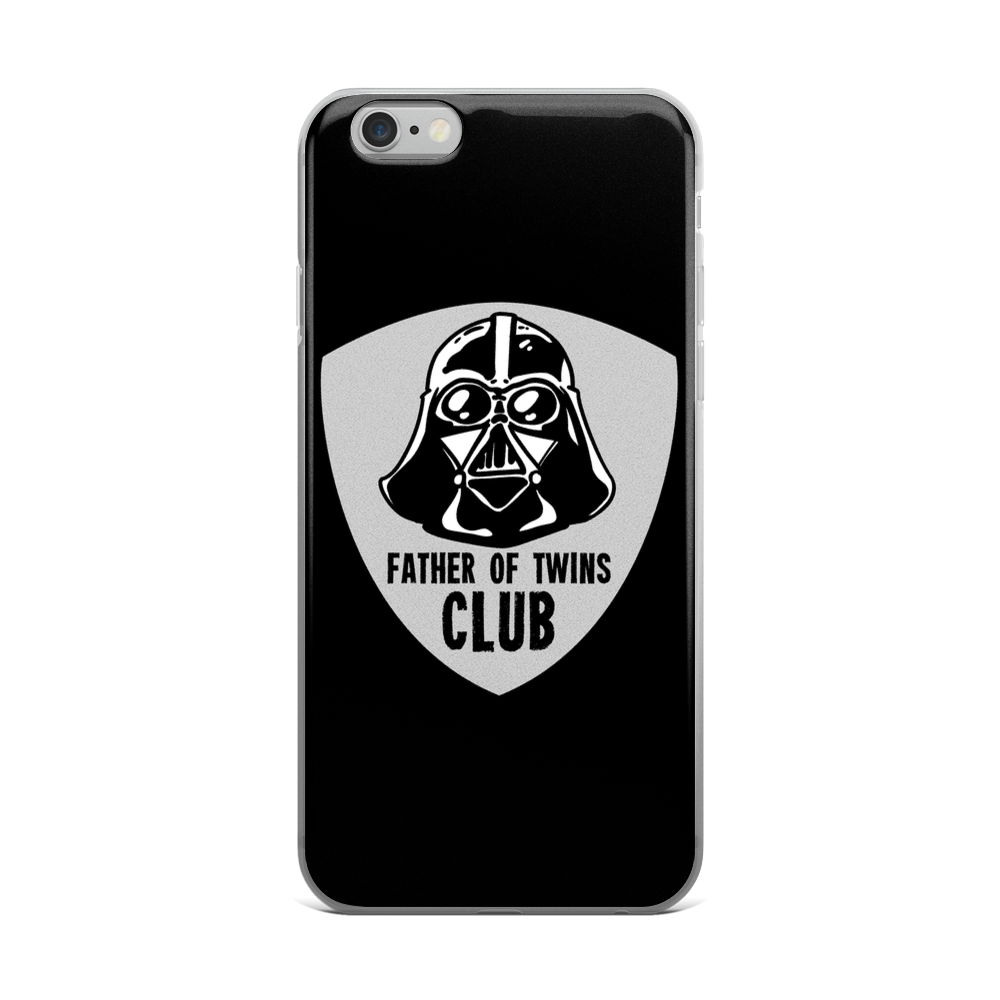 Father of Twins Club iPhone Case