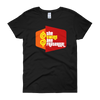 Price is Right Twins Parody - The Twins Are Fraternal (Black Shirt / Womens Style)