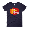 Price is Right Twins Parody - The Twins Are Fraternal (Navy Shirt / Womens Style)