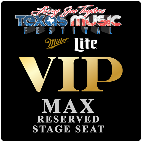 Miller Lite VIP Max Reserved Stage Seat