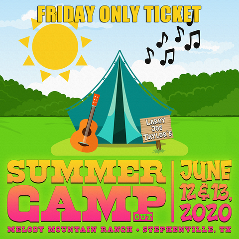 LJT Summer Camp Friday Only Ticket - 6/12/2020