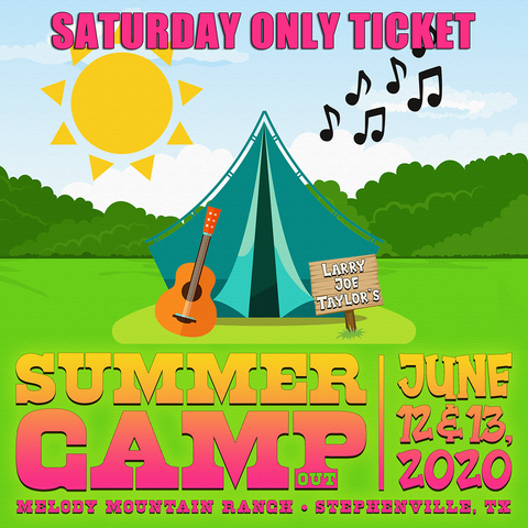 LJT Summer Camp Saturday Only Ticket - 6/13/2020