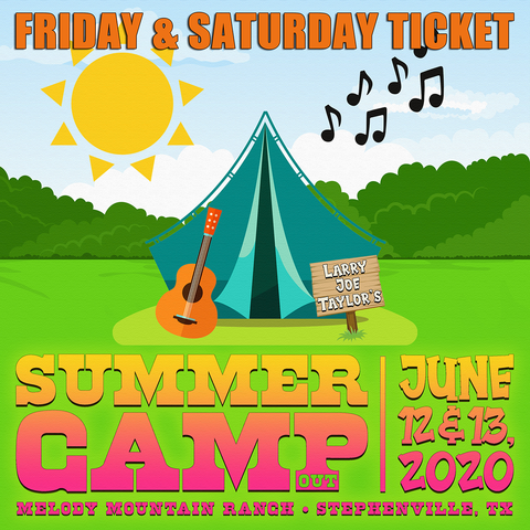 LJT Summer Camp Friday & Saturday Ticket - 6/12/20 & 6/13/20
