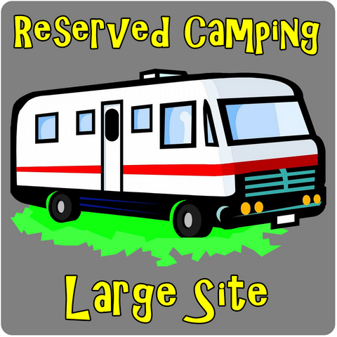 Camping Reserved Section H (Large Site) - LJT's 32nd Annual Texas Music Festival