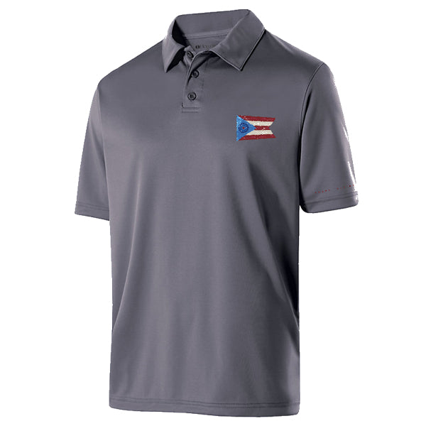 Sheen Nation Gray Polo