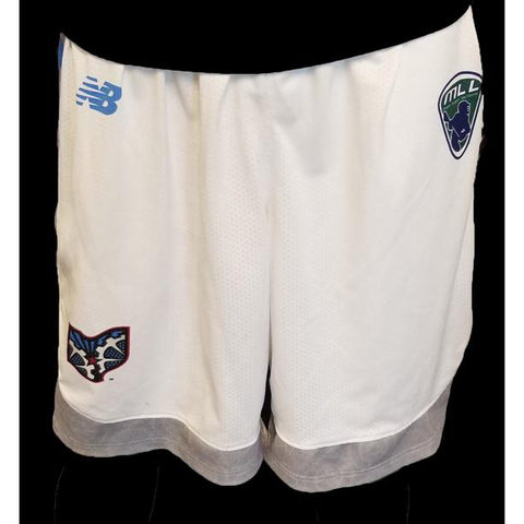 2018 White Game Shorts