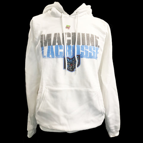 Ohio Machine White Hoodie