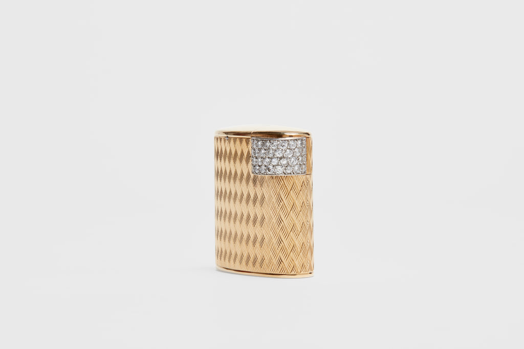 Cartier Diamond Lighter in Original Case