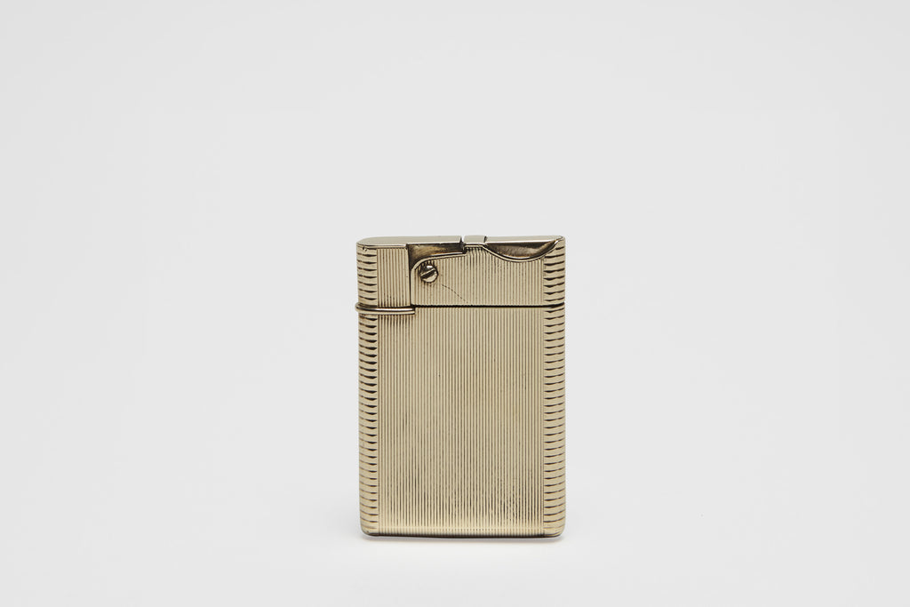 "Asprey Gold ""Wafer"" Lighter"