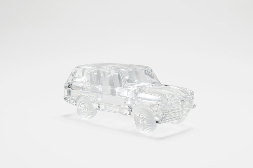 Crystal Range Rover Model
