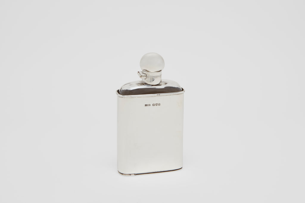 Flask with Removable Cup & Concealed Compartment