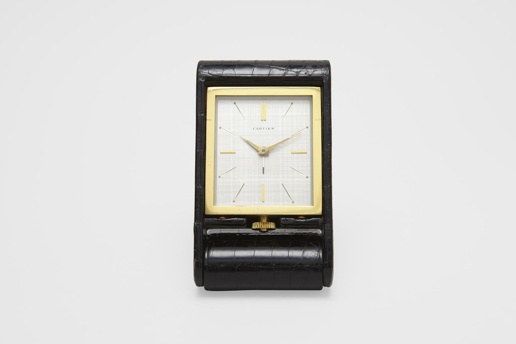 Cartier Folding Desk Clock