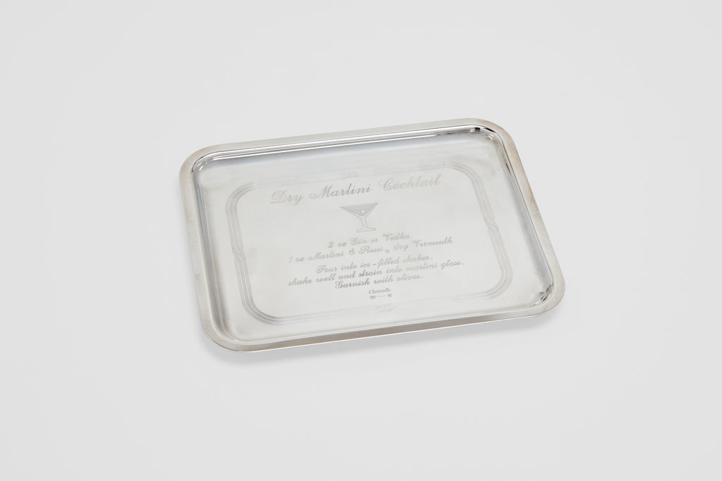 Christofle Martini Bar Tray