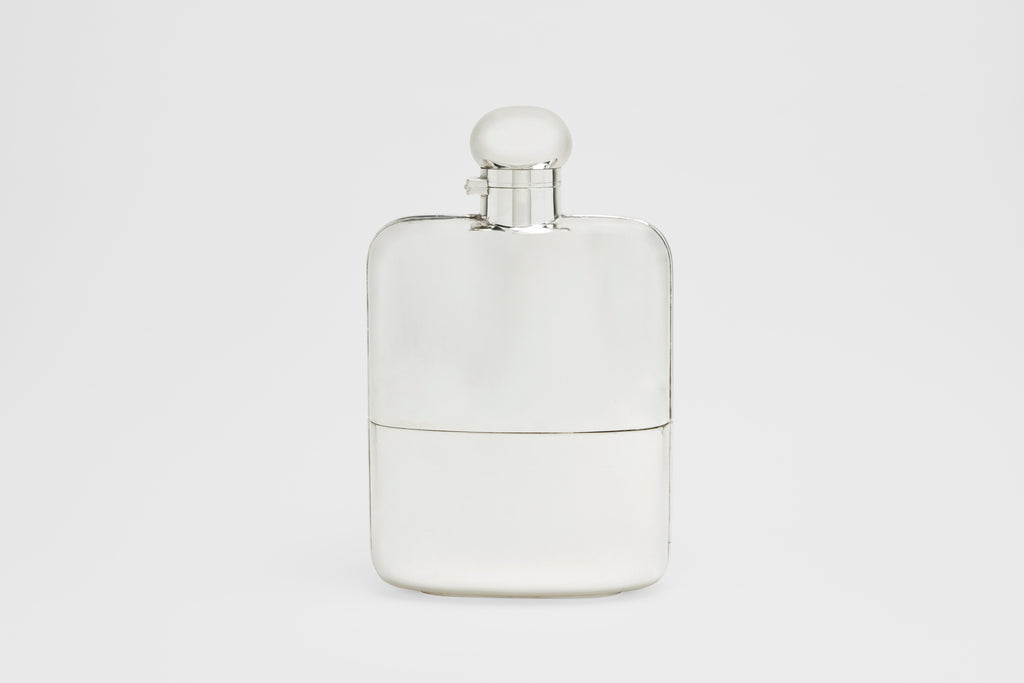 Large Drinking Flask with Removable Cup