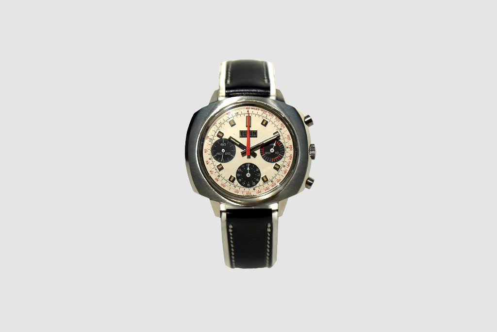 Elgin Three Register Chronograph