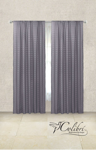 Cortinas Soft Gris