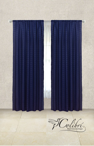 Cortinas Soft Marino