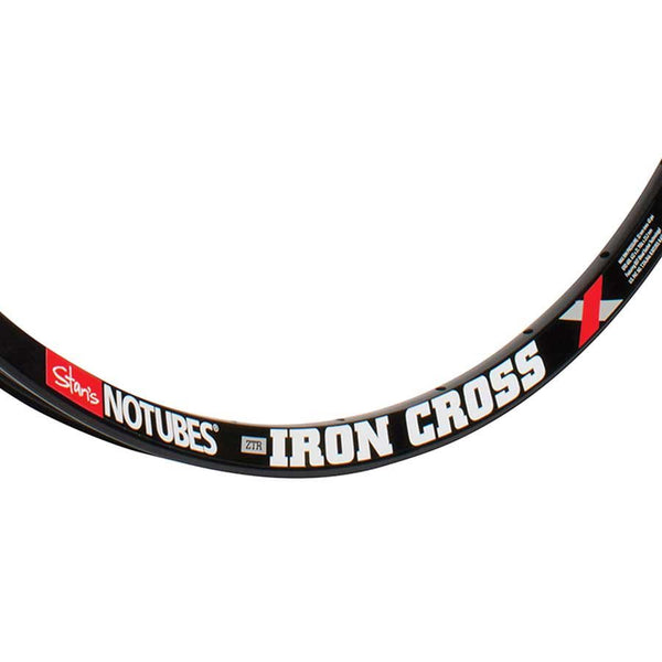Stans No Tubes ZTR Iron Cross Disc Rim 700c 24H