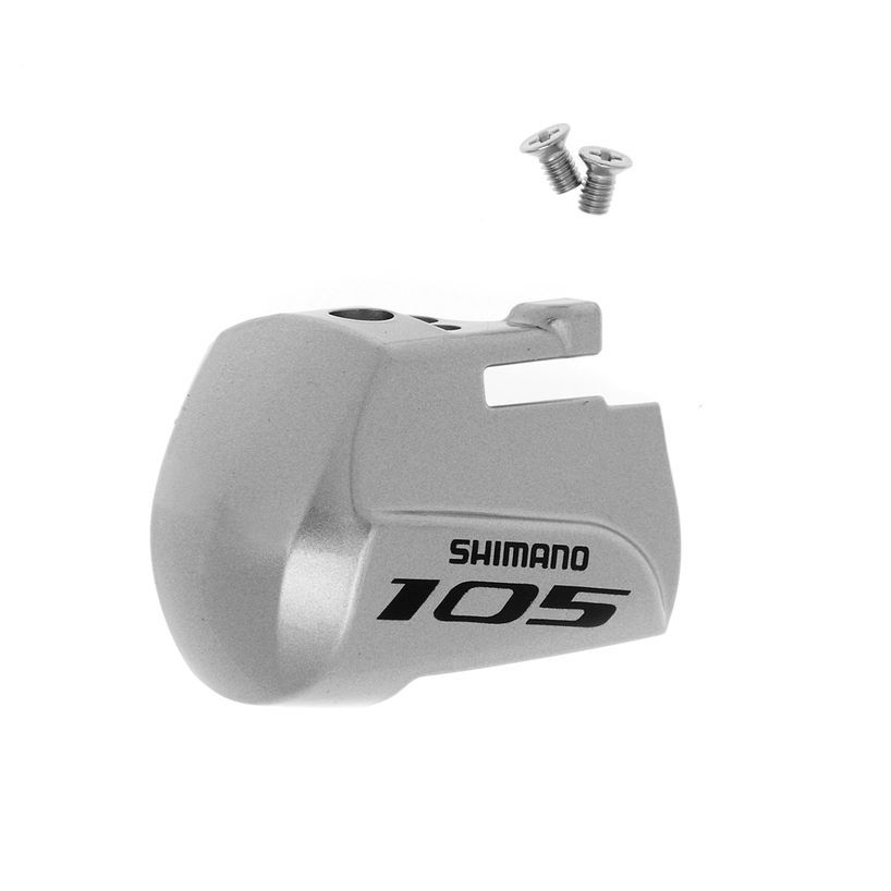 Shimano 105 ST-5800 Left STI Lever Name Plate and Fixing Screws