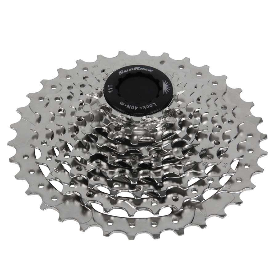 Sunrace Cassette Csm66 12-34 8 Speed Nickel Sporting Goods