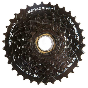 SunRace MFM300 7 Speed Freewheel 14-34 Black