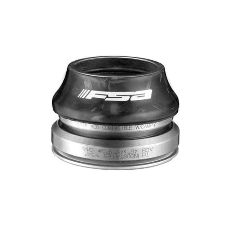 FSA ORBIT C-33 Integrated Tapered Headset for 1-1//8″ to 1-1//4″ Black