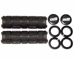 ODI Rogue Lock-On Grips w/ Clamps Bonus Pack